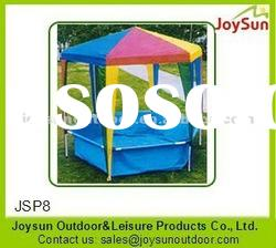 Hot selling chirdren swimming pool tents/swimming pool cover tent