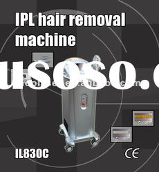 IPL beauty salon equipment for hair and wrinkles removal and skin rejuvenation