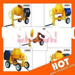 JH90 Portable Concrete Mixer with PLC Control for sale in stock
