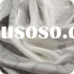 Jacquard Silk Satin Fabric In Textile