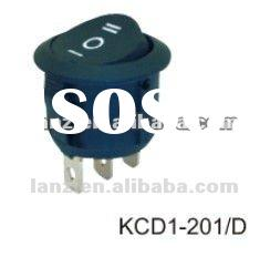 KCD1-201D Rocker Switch Round type 3 off switch