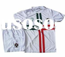 Kids Portugal Soccer Jersey, Thai Football Jersey, Socce Clothing