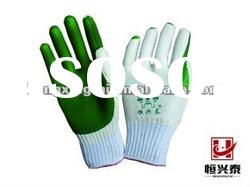 LAMINATED LATEX SAFETY COTTON INDUSTRIAL GLOVES
