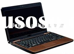Laptop pc 14inch D525 intel atom dual-core DVD cheapest note laptop computer in shenzhen