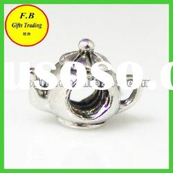 Large Hole Metal Tea Pot Shape Jewelry Finding Beads (FB-P0235)