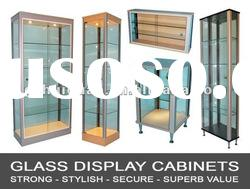 Large Retail Glass Display Cabinet/Glass Showcase