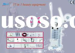 Latest 17 in 1 multifunctional beauty center equipment with factory price