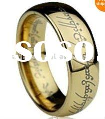 Lord of the Rings LOTR Rings 18K GOLD GF R187