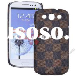 Luxury Grid Hard Case for Galaxy S3 i9300