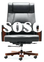 Luxury solid wood office chair executive chair
