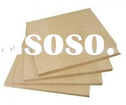 Melamine MDF board with 4mm/6mm/9mm/12mm from factory