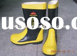 Mining Safety boots,rubber fire proof boots