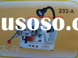 Model 233-A WenXing key cutting machine with external cutter