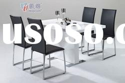 Modern High Quality High Light MDF Dining Table