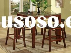 Modern dining table and stool set