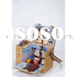 Multifunctional picnic camping basket for 4 persons(SBA-3742)