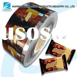 Multilayper flexilbe food plastic film for chocolate candy packaging