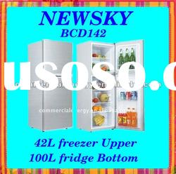 NEWSKY High Quality 142 liters 12V/24V DC Solar Refrigerator and Freezer