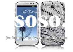 NEW DIAMOND BLING HARD CASE COVER FOR SAMSUNG GALAXY S III i9300