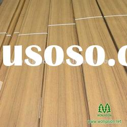Natural Burma Teak Veneer for Flooring