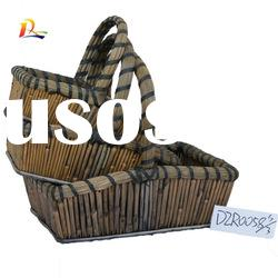 Nature Fancy bamboo basket for picnic