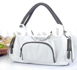 New Arrival- Fashion Lady handbags-Color White with Grey