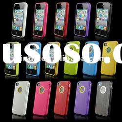 New Soft TPU GEL Silicone Skin Case Cover Skin for Apple iPhone 4 4G 4S
