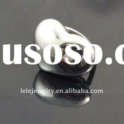 New style fashion stainless steel ring seetings without stonne
