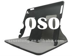 Newest Ultrathin 6800 mAh Leather Battery Case with stand for New ipad,for ipad 2/3