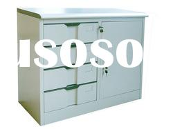 Office furniture knock down structure 4 drawer file cabinet