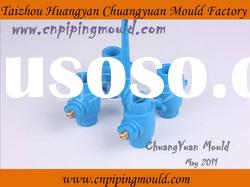 PPR ball valve pipe fitting mould with 4 cavities