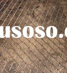 PVC/galvanized chain link fence (ISO 9001 Manufacturer)