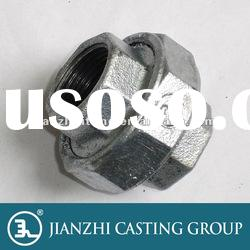 Pipe Connection Malleable iron pipe fittings Union