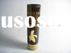 Plastic tube with black color