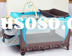 Portable new design baby playpen baby crib baby cot