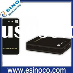 Portable power bank, external battery pack