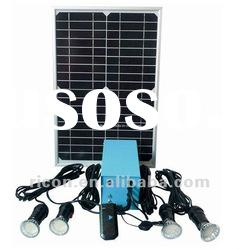 Portable solar power system 100W for home lighting