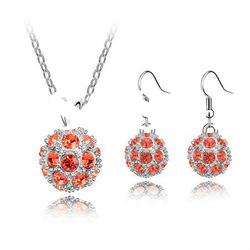 Pretty Ball Shaped Necklace Necklace Sets /Fashion Jewellery 4587-4592