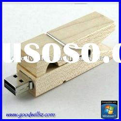 Promotion gift wooden usb flash drive 32gb with logo