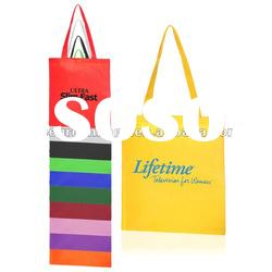 Promotional non woven tote bag with multicolor