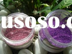 Purple Hexagon Glitter Powder used for Greeting Card 1/128""