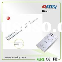 Remote control rechargeable battery led tube