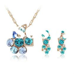 Rhinestone Earring and Necklace Set/Fashion Jewelry 4583-4586