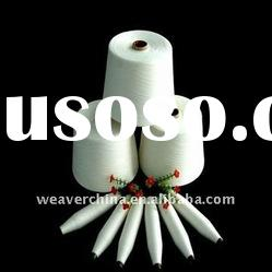 Ring spun 20/4 polyester yarn