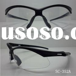 Safety sports glasses