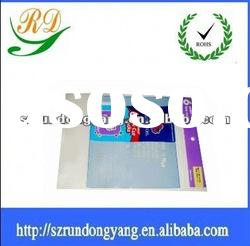 Self-adhesive composite packing Bag wiith socks