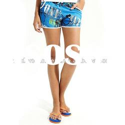 Sharp design ladies' shorts / board shorts / beach pants
