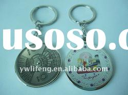 Singapore souvenir with 50years Calendar key metal keychain souvenir