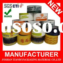 Single Sided Strong Acrylic Adhesive OPP Packing Tape
