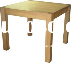 Solid wood oak nature colored end table